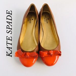 KATE SPADE PATENT LEATHER FLATS/DRIVING SHOES